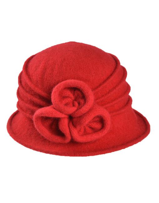Three Little Flowers Woolly Hat