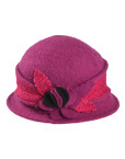 Central Spin Flower Woolly Hat