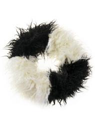 Two Tone Mongolian Fur Snood