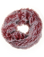 Double Layer Soft Fur Snood