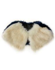 Luxury Two Tone Fur Cape
