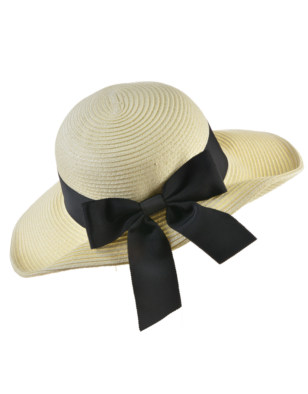 Bow Side Straw Floppy Hat Wholesale Price   Discount 188701f652a