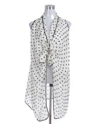 Dots Print Beach Vest