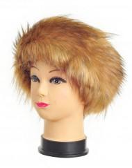 Faux Raccoon Fur Headband