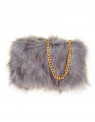 Plain Fur Bags
