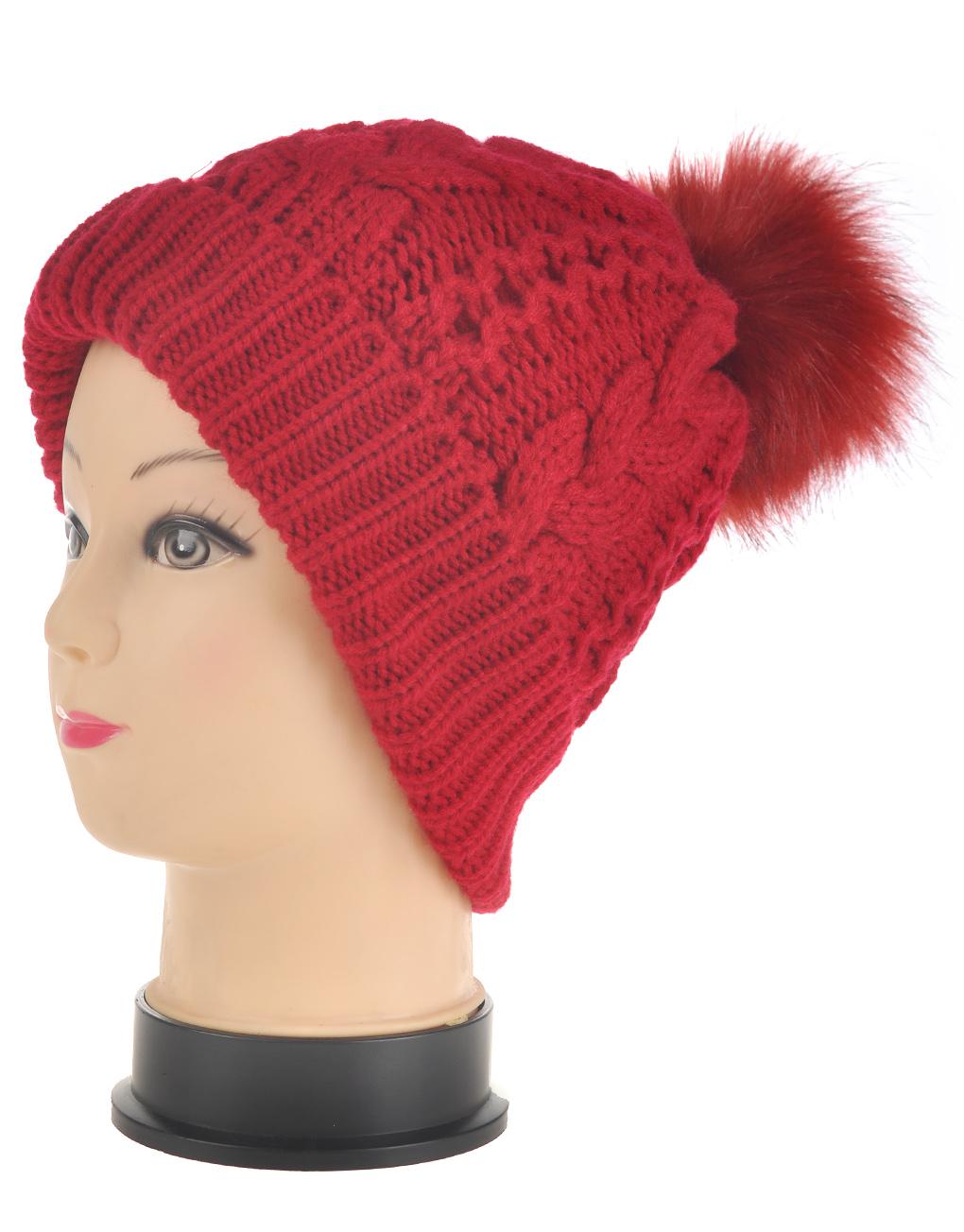 c2fd49634db3e Flip Brim Pompom Beanie Hat Wholesale Price