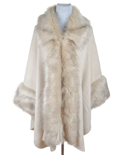 Elegant Winter Square Fur Coat wholesale price