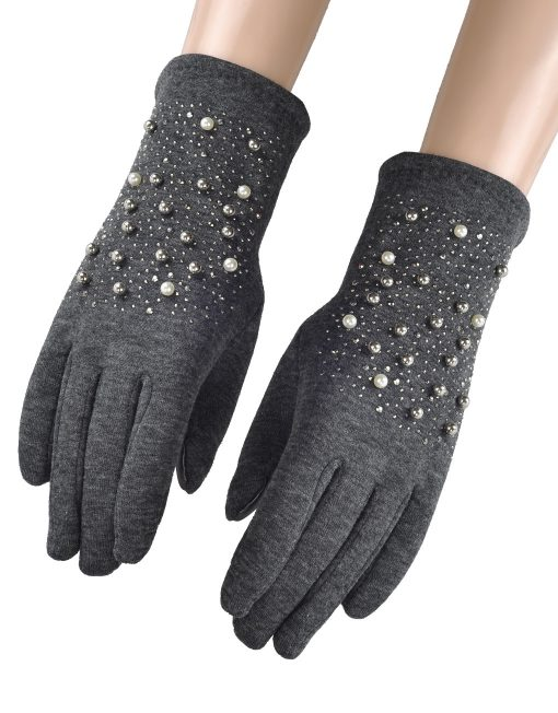 Shining Pearl Winter Glove