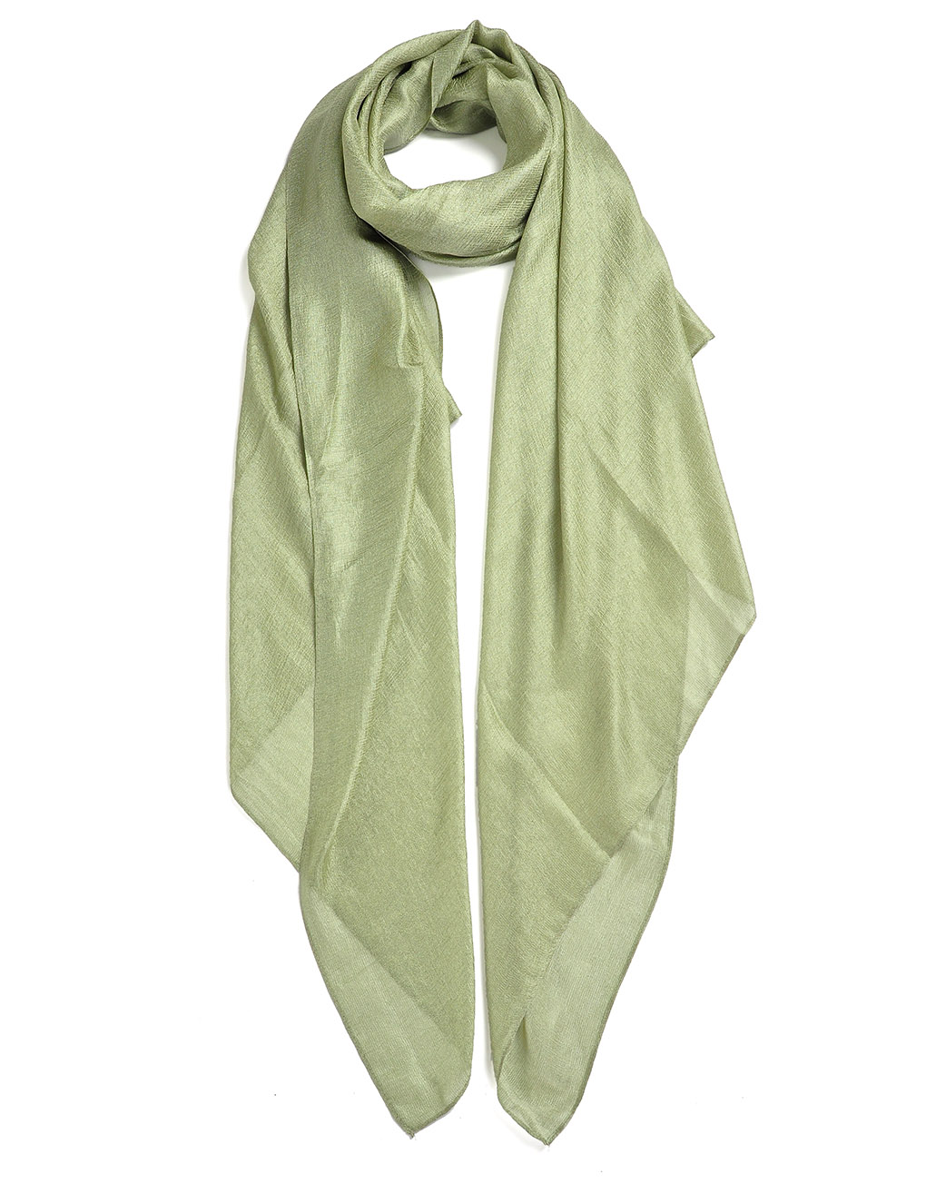 fresh delicate plain silk scarf luxe wholesale