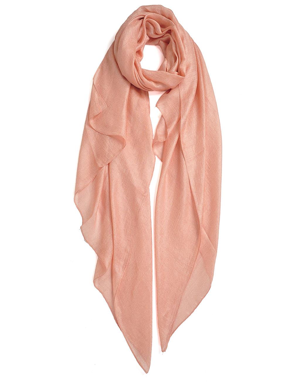 fresh delicate plain silk scarf luxe wholesale