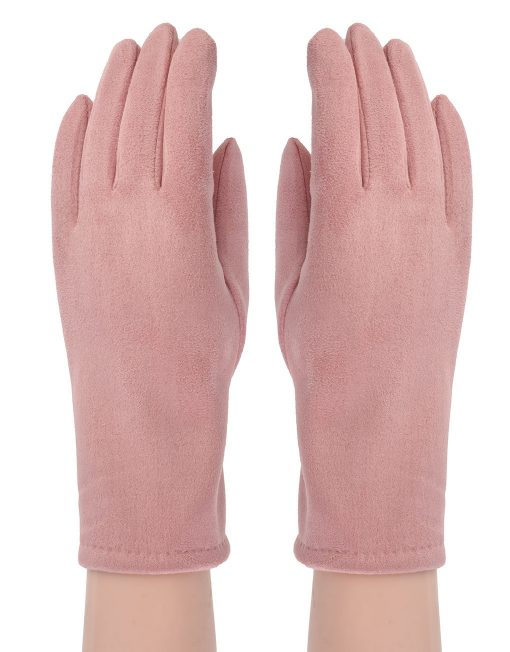 Plain Suede Glove