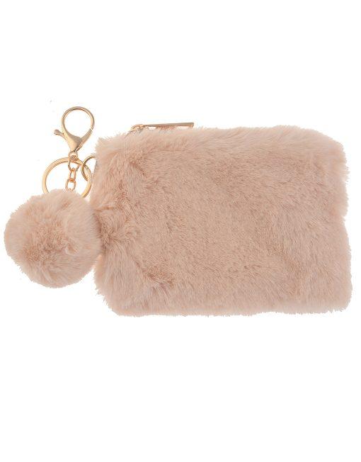 Small Fur Coin Bag