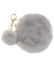 Small Round Fur Coin Bag