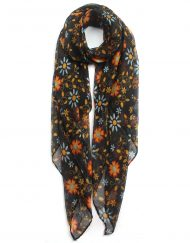 Colourful Little Daisy Print Scarf