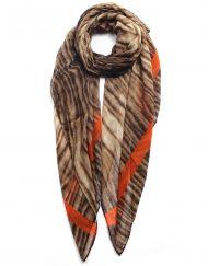 Tiger Fur Print Scarf