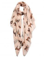 Lovely Dogs Print Scarf