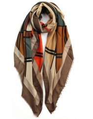 Artistic Drawing Print Scarf