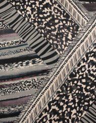Zebra And Leopard Print Scarf