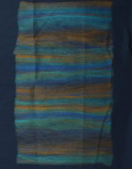 Waterfall Colour Print Winter Scarf