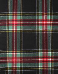 Scottish Check Print Winter Scarf