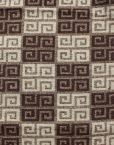 Maze Grid Print Men's Scarf