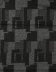 Check and Saw Print Men's Scarf