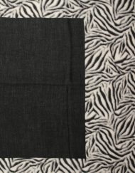 Zebra Boarder Print Scarf