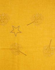 Stars Tree Foil Print Scarf