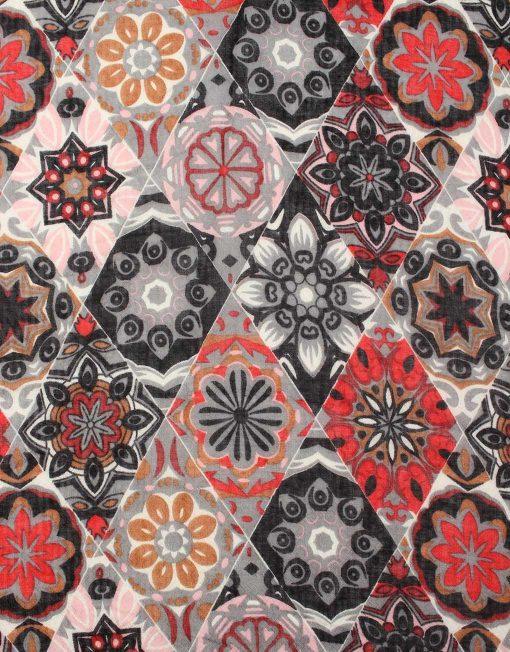 Kaleidoscope Print Scarf