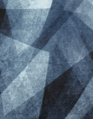 Gradient Rhombus Print Winter Scarf