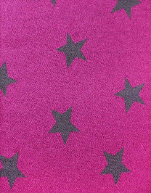 Star Print Winter Scarf