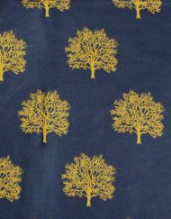 Oak Tree Print Winter Scarf