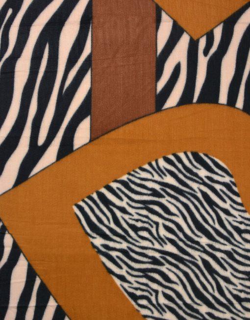 Zebra Print Winter Scarf