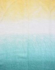 Gradient Spring Colour Print Scarf