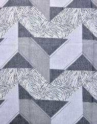 Zebra Triangle Print Scarf