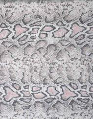 Mysteries Snake Skin Print Scarf