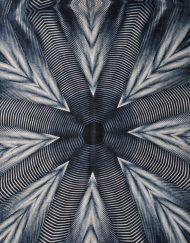 Spider Net Cotton Print Scarf